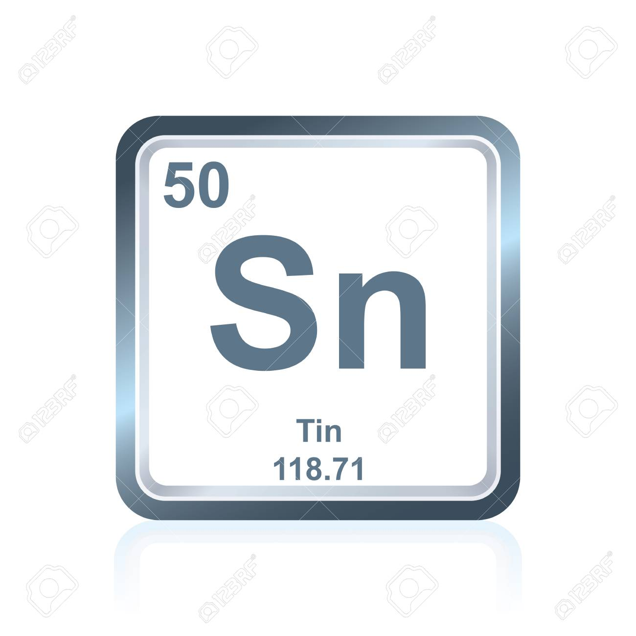 Symbol of chemical element tin as seen on the periodic table symbol of chemical element tin as seen on the periodic table of the elements including urtaz Gallery