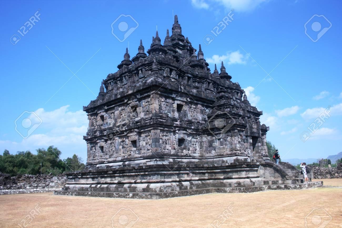 plaosan temple is located in Yogyakarta on Java island, Indonesia Stock Photo - 17049719