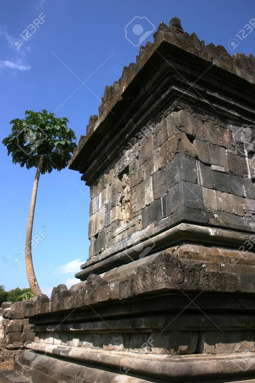 plaosan temple is located in Yogyakarta on Java island, Indonesia Stock Photo - 17049733