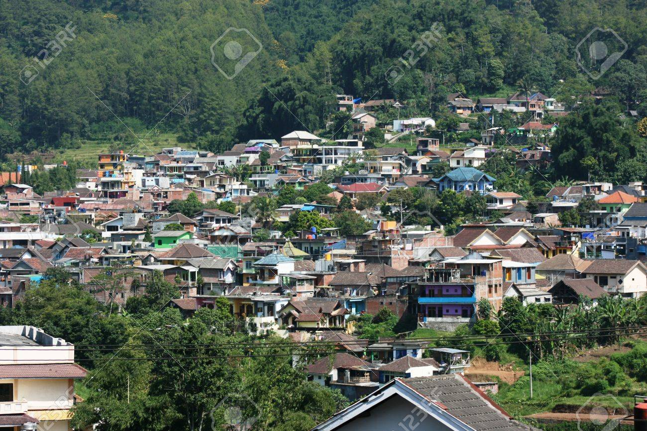 Residential Areas In Batu Hill Malang East Java Indonesia Stock Photo Picture And Royalty Free Image Image 28459673