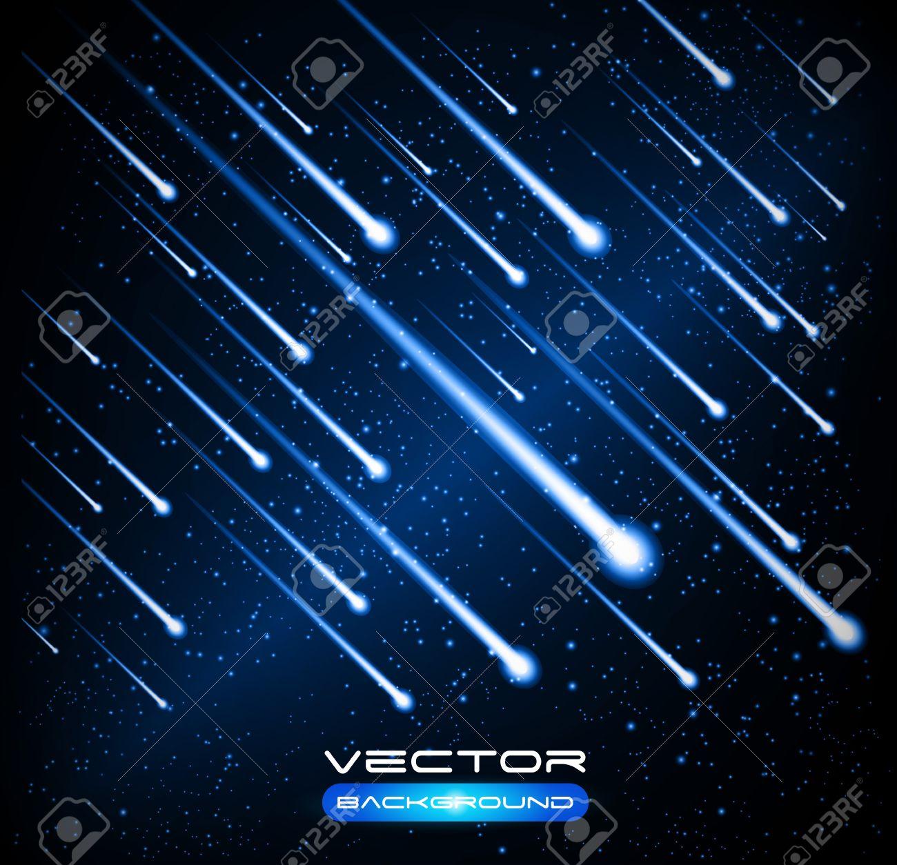 Comet Sky Night Sky Meteor Comet