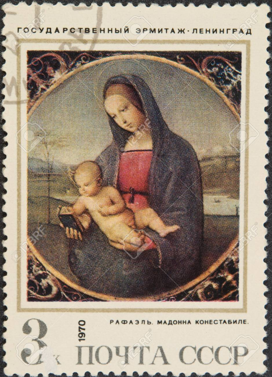 The Conestabile Madonna Is A Small Painting By Italian
