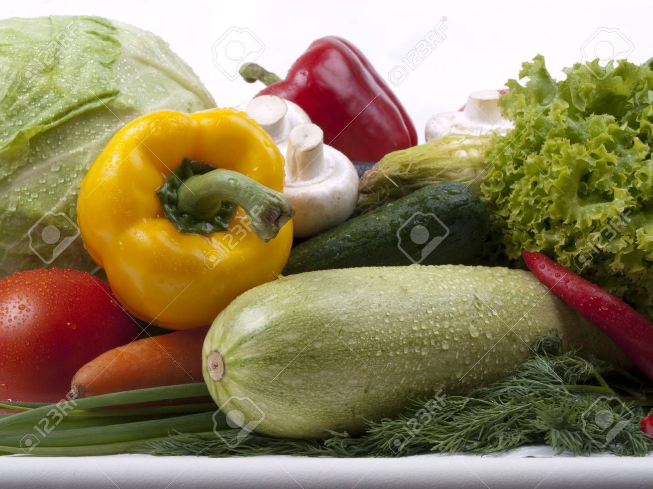 variety of vegetables; colorful and plentiful Stock Photo - 5578464