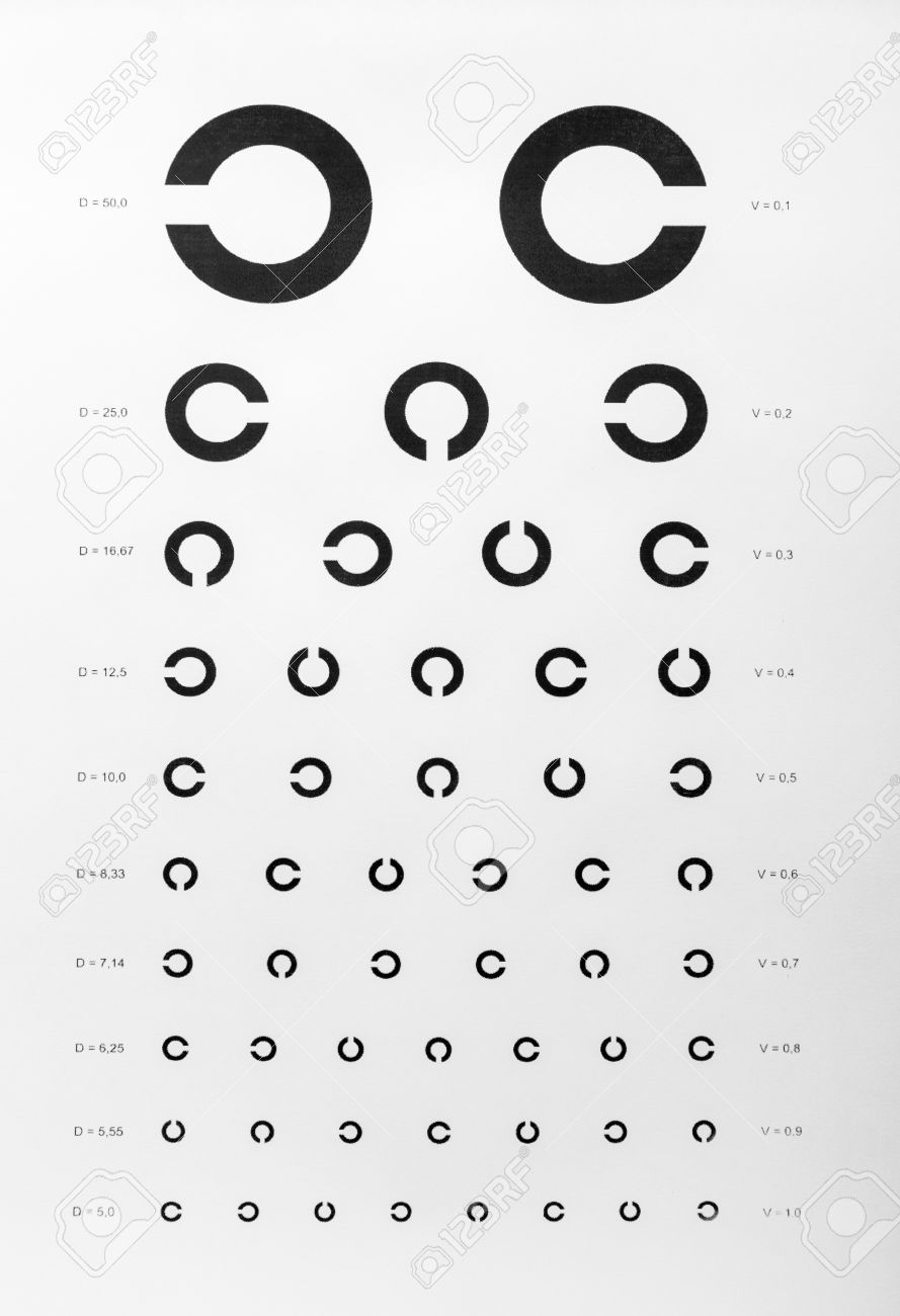 Eye examination chart used for visual acuity testing stock photo eye examination chart used for visual acuity testing stock photo 38336933 nvjuhfo Gallery
