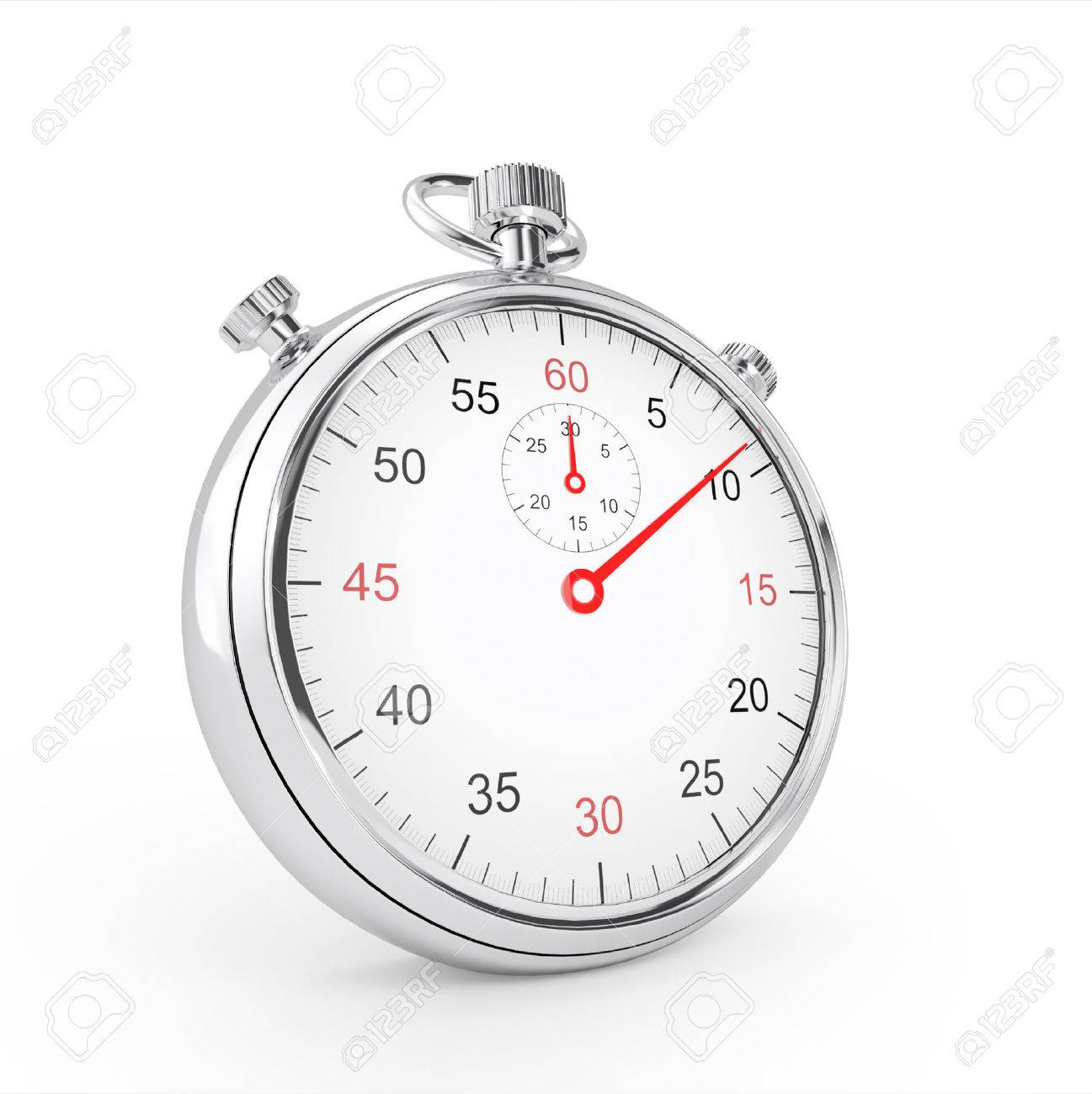 Sport stopwatch isolated over white background Stock Photo - 41621512