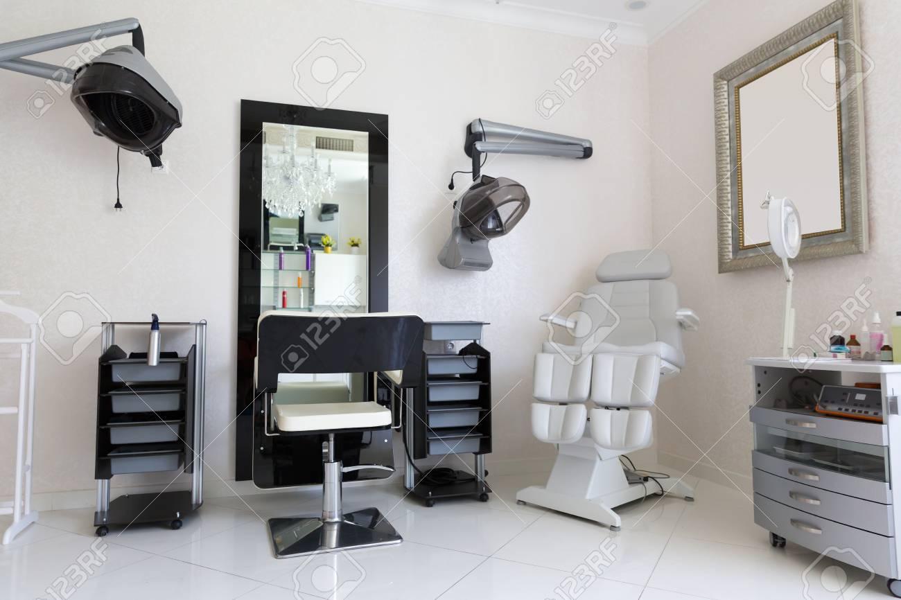Agreable Banque Du0027images   La Chambre De Salon De Coiffure Moderne Avec équipements