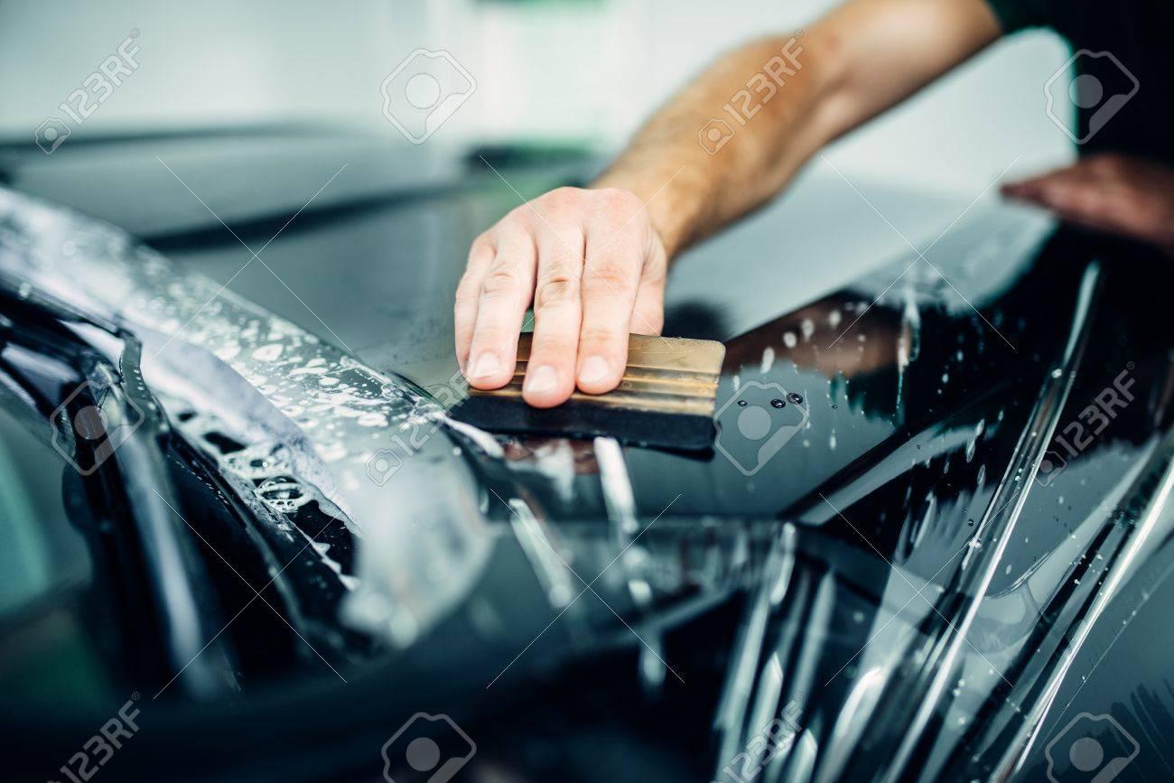Car Paint Protection >> Auto Paint Protection Transparent Film Closeup