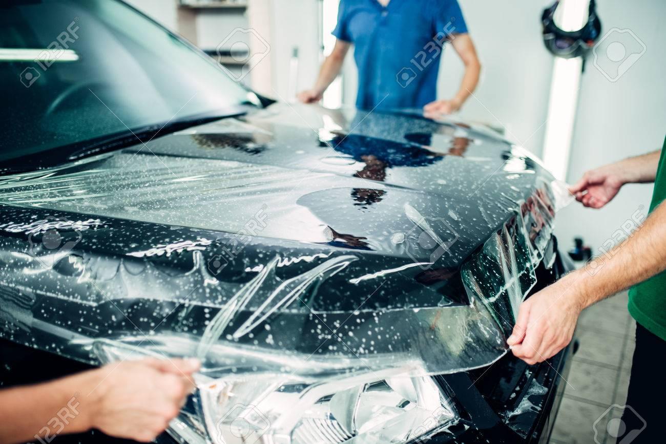 Transparent film, car paint protection - 84735603