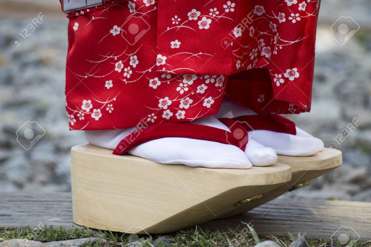 geisha scarpe