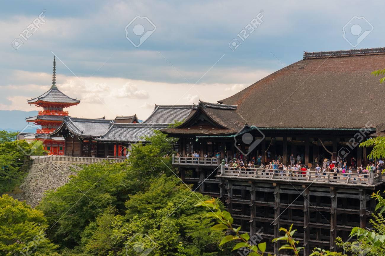 京都の清水寺で京都市、日本 , 2016 年 7 月 31 日
