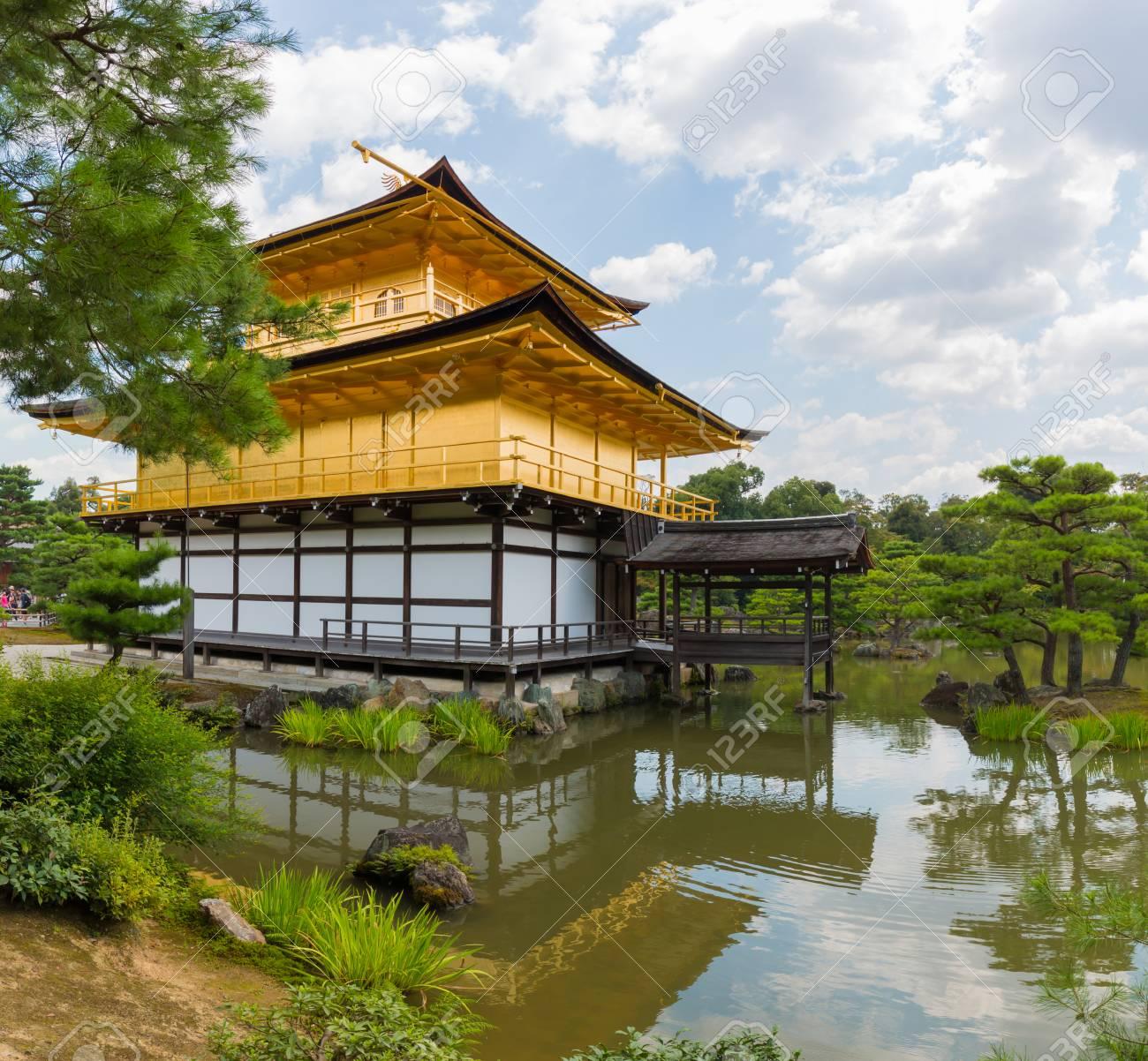 Kinkaku-ji (Temple of the Golden Pavilion) is a Zen Buddhist