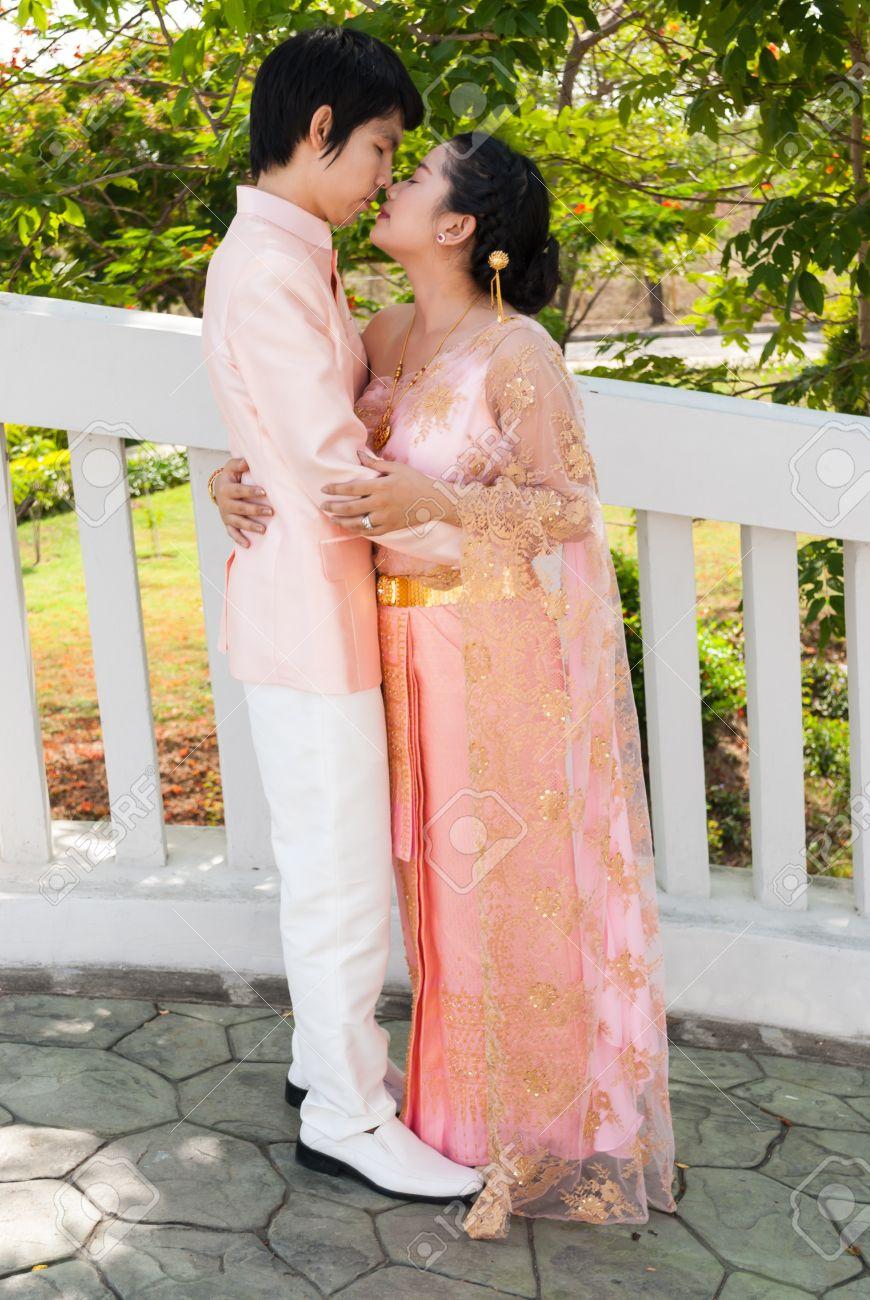Asian bride thai