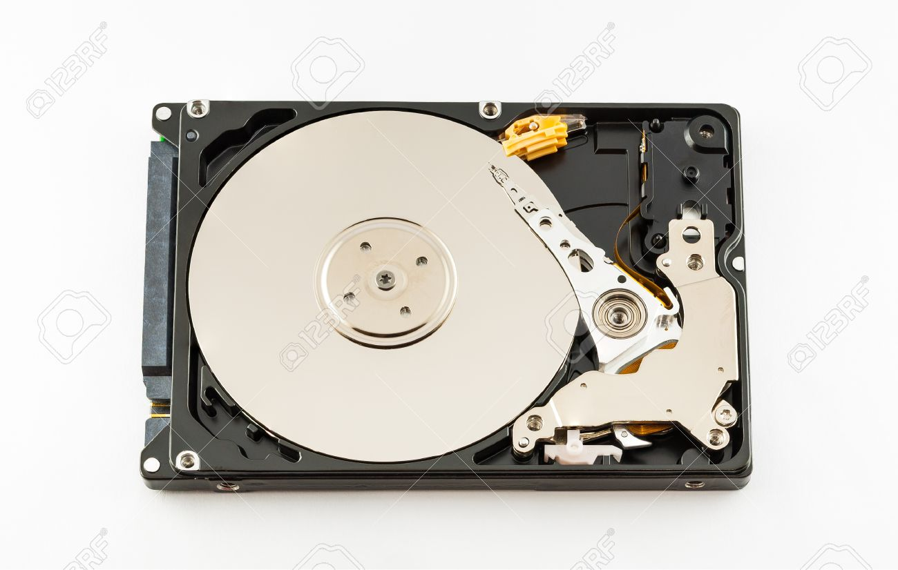 Inside 2 5 Inch Laptop Hard Drive Stock Photo Picture And Royalty Free Image Image 30085440