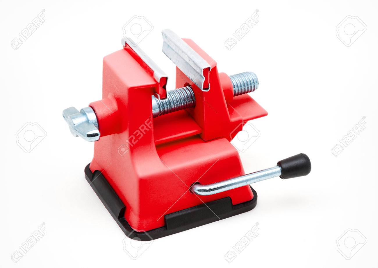 Superb Red Plastic Bench Vise With Suction Cup Onthecornerstone Fun Painted Chair Ideas Images Onthecornerstoneorg