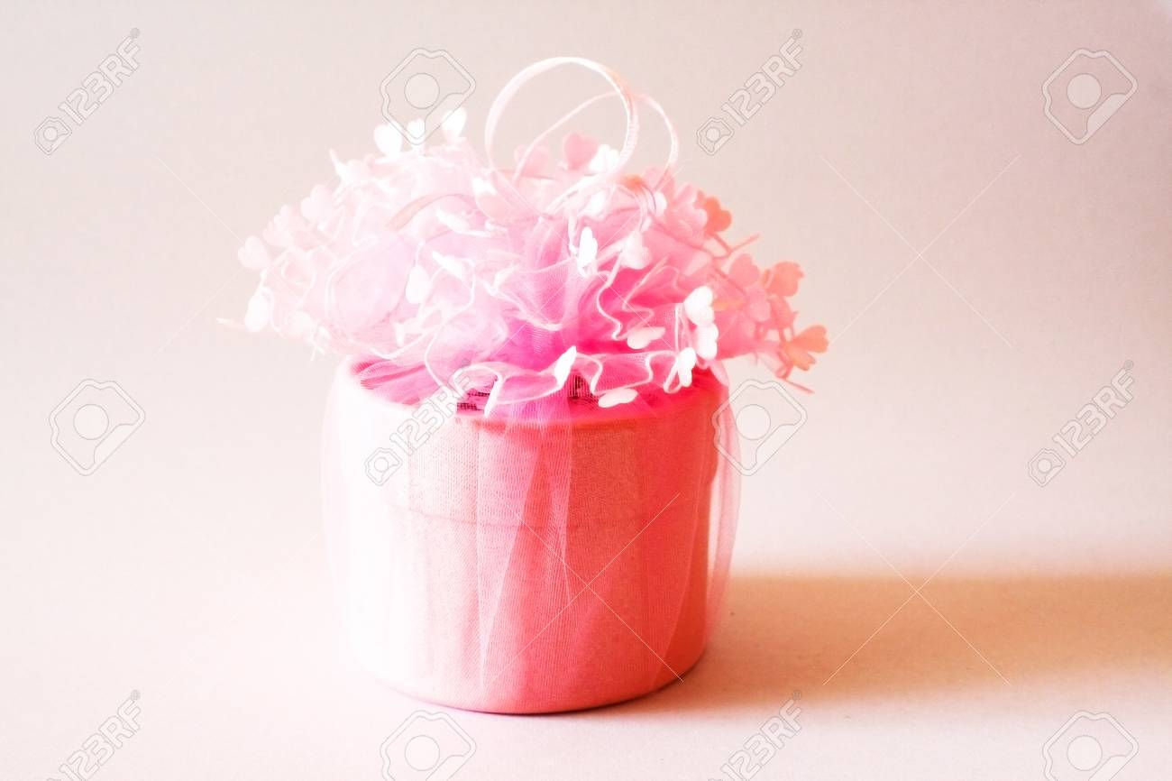 Pink Color Wedding Gift Set Stock Photo, Picture And Royalty Free ...