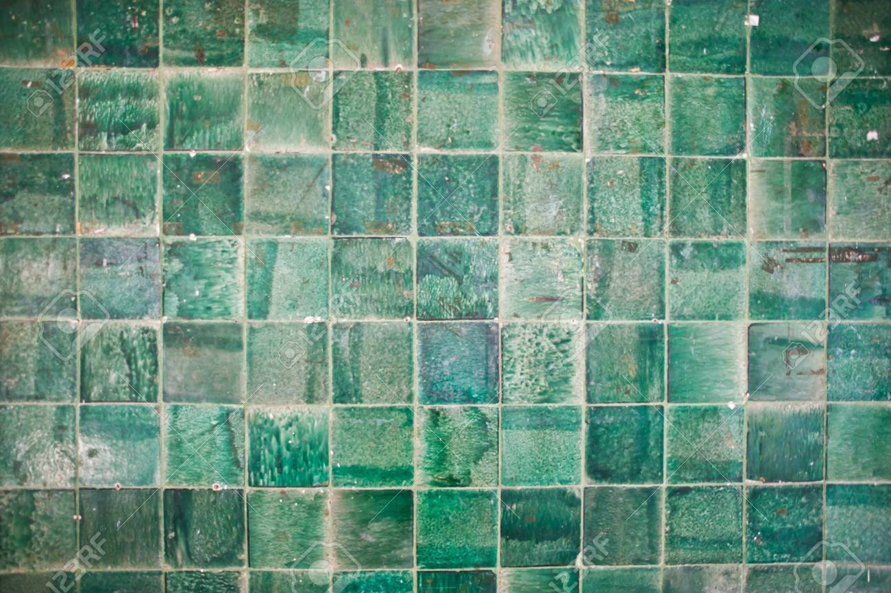 Small green tiles texture background immagini small green tiles