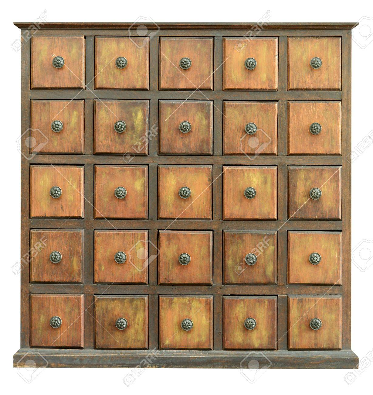 Old Wooden Drawers Stock Photo - 11981573