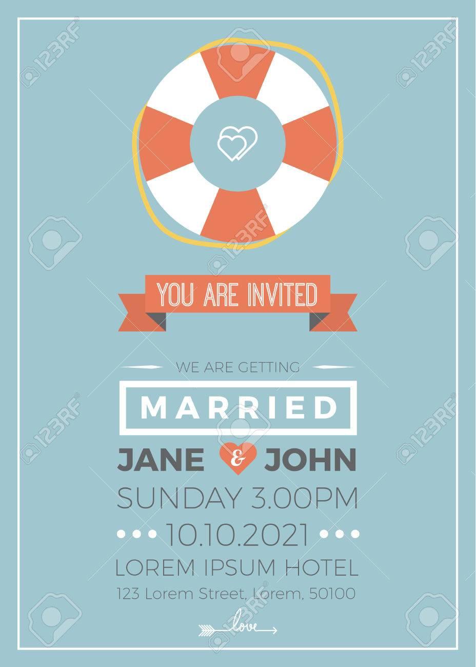 Vintage wedding invitation card a5 size frame layout print template imagens vintage wedding invitation card a5 size frame layout print template stopboris Images