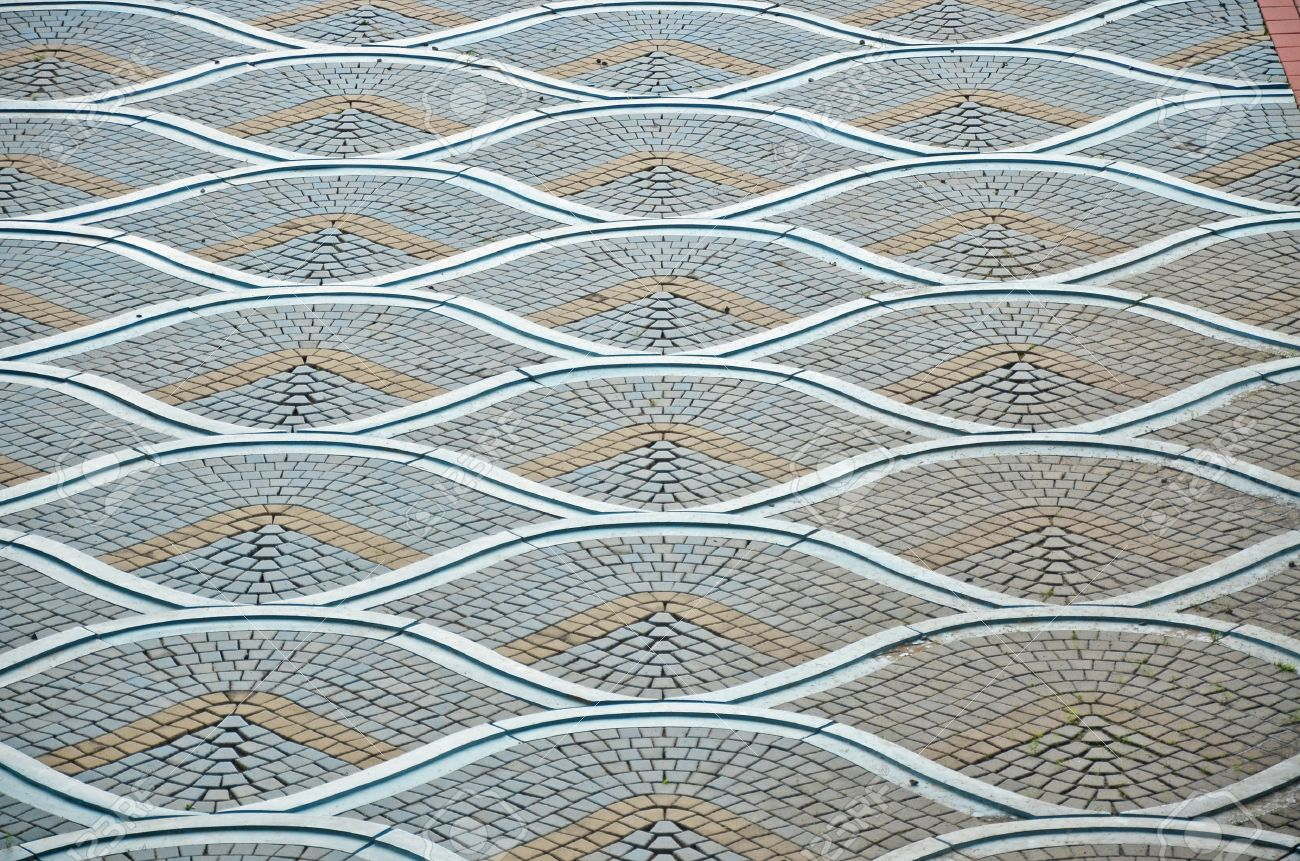 Photo Of Beautiful Tile Floor Pattern Stock Photo, Picture And ...