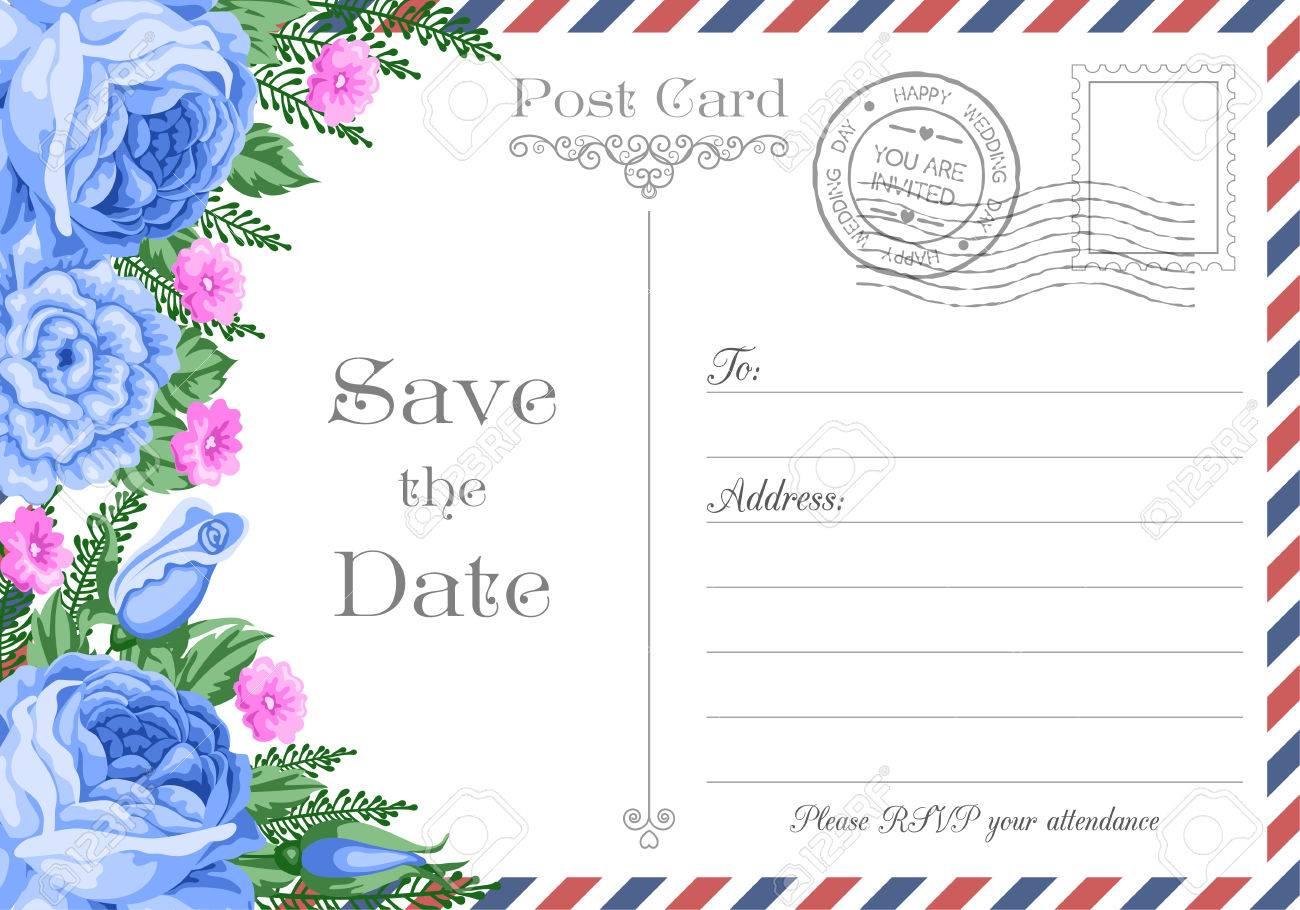 postcard invitations template