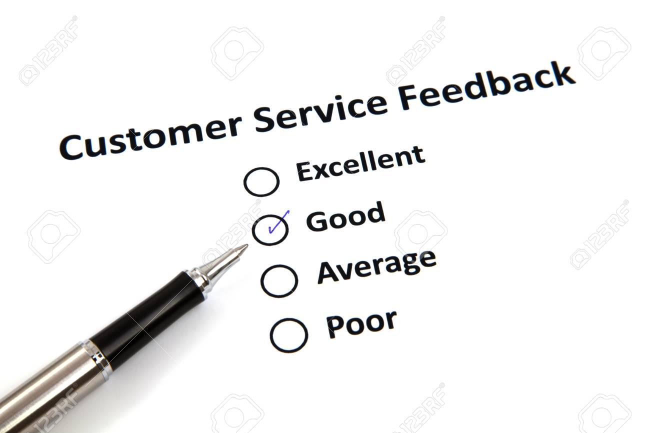 Customer Service Feedback Stock Photo - 20276729