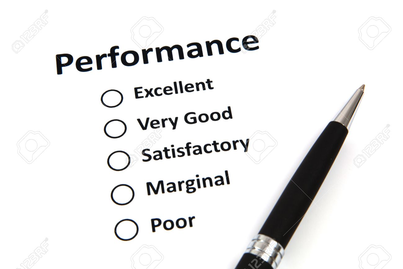Performance Evaluation Form Photo Picture And Royalty Free – Performance Evaluation
