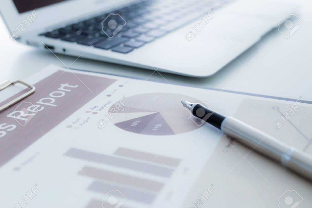 Business finance, tax, accounting, statistics and analytic research concept Stock Photo - 39844316