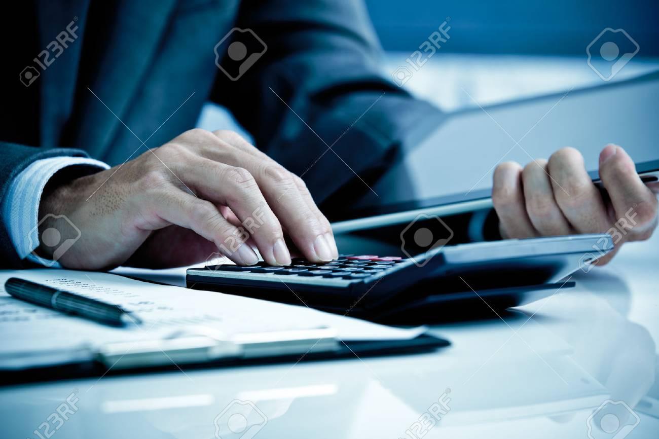 Man Analysis Business Accounting Stock Photo - 47838507