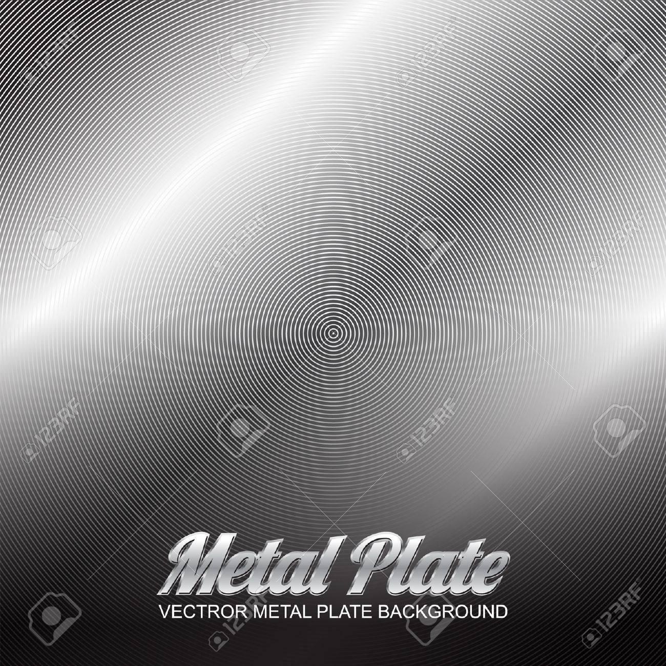 vector metal plate 3 Stock Vector - 16888253
