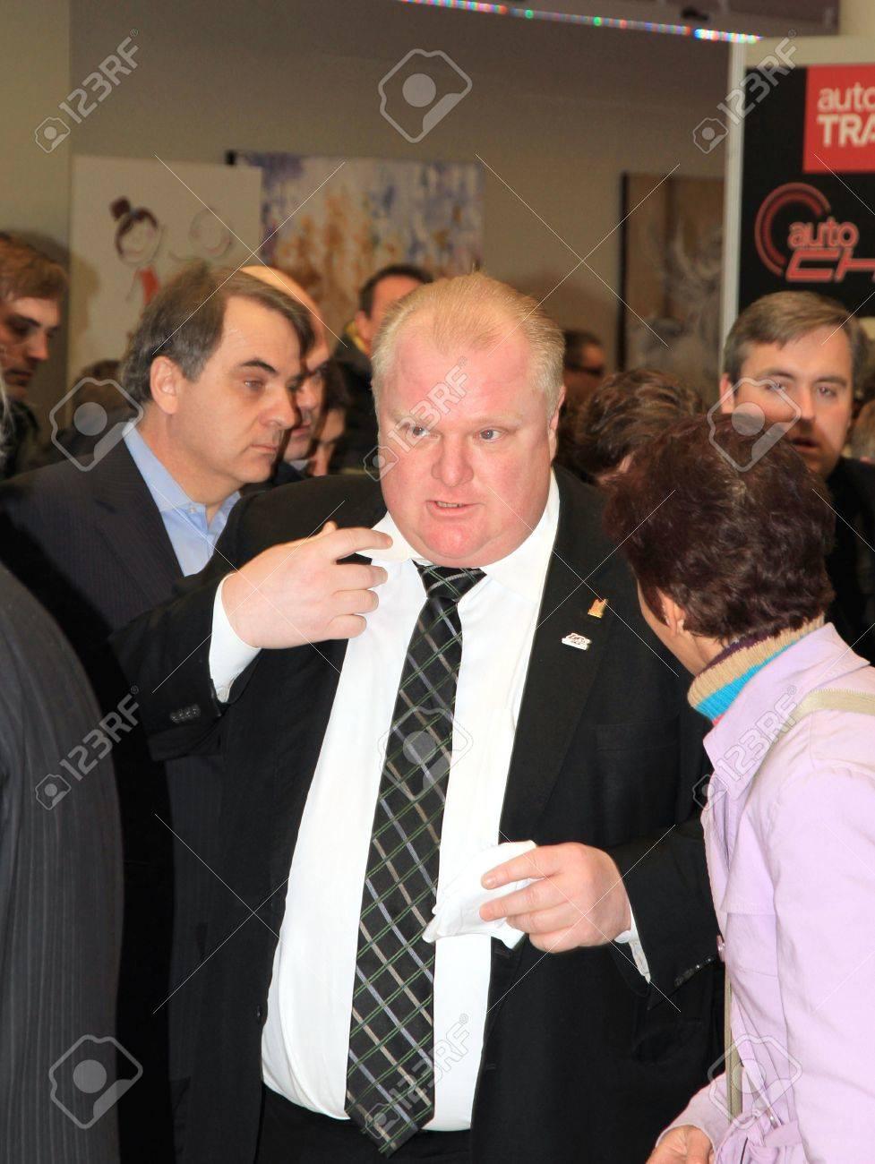 Toronto, March 15, 2013 - Toronto Mayor Rob Ford - 18368097