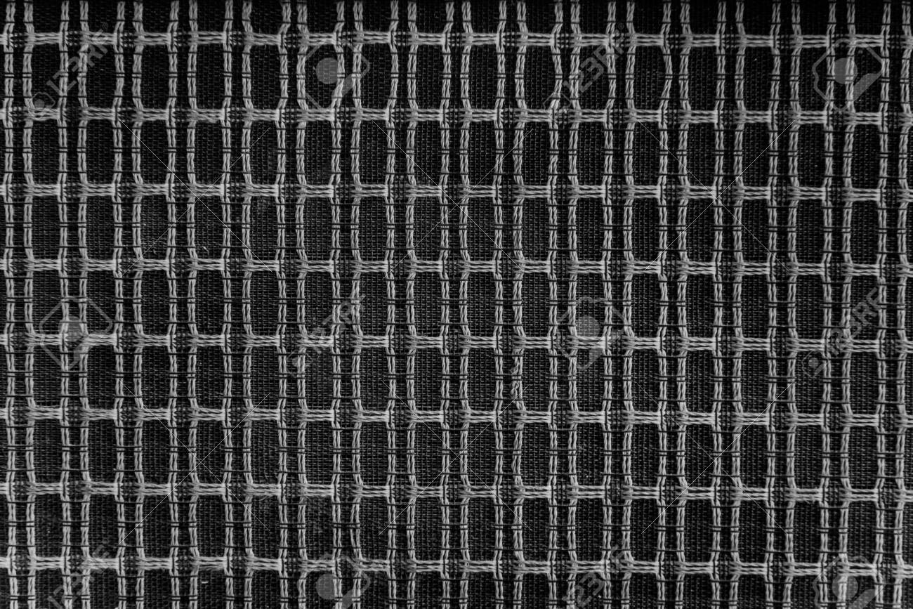 Type De Haut Parleur gros plan de haut-parleur de type ancien tissage avec du fil. fond d'écran  rétro haut-parleur.