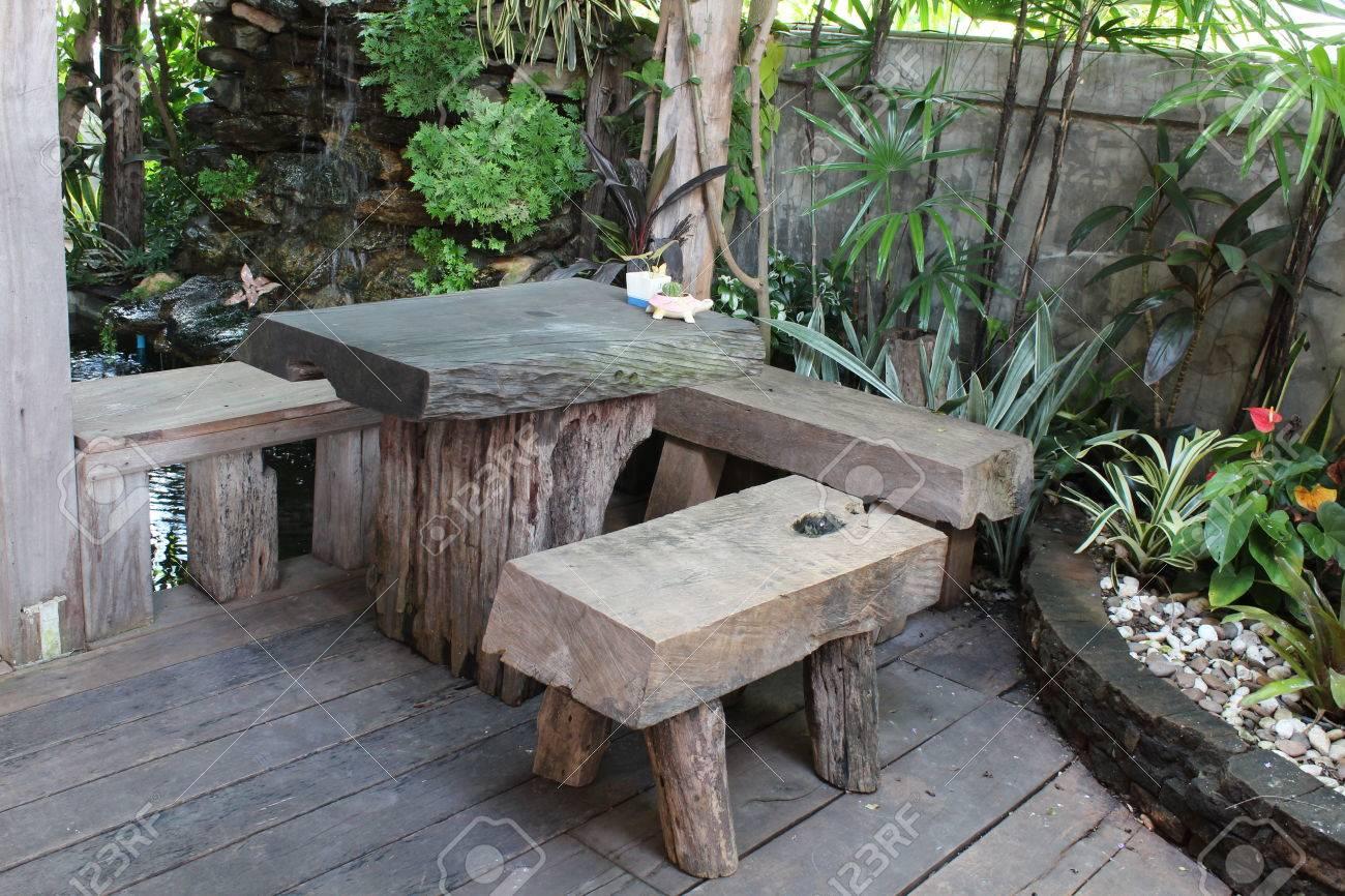 Suelos Madera Jardin. Simple Patio Dcon Suelos De Madera Y Puerta ...