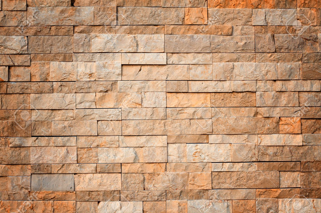 Background of stone wall made with blocks Stock Photo - 10717804