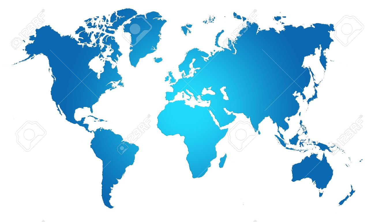Blue world map world background stock photo picture and royalty blue world map world background stock photo 16449342 gumiabroncs Images