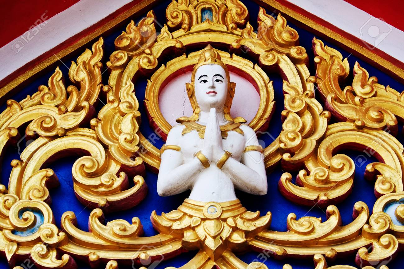 Painting in traditional Thai style Stock Photo - 8325812