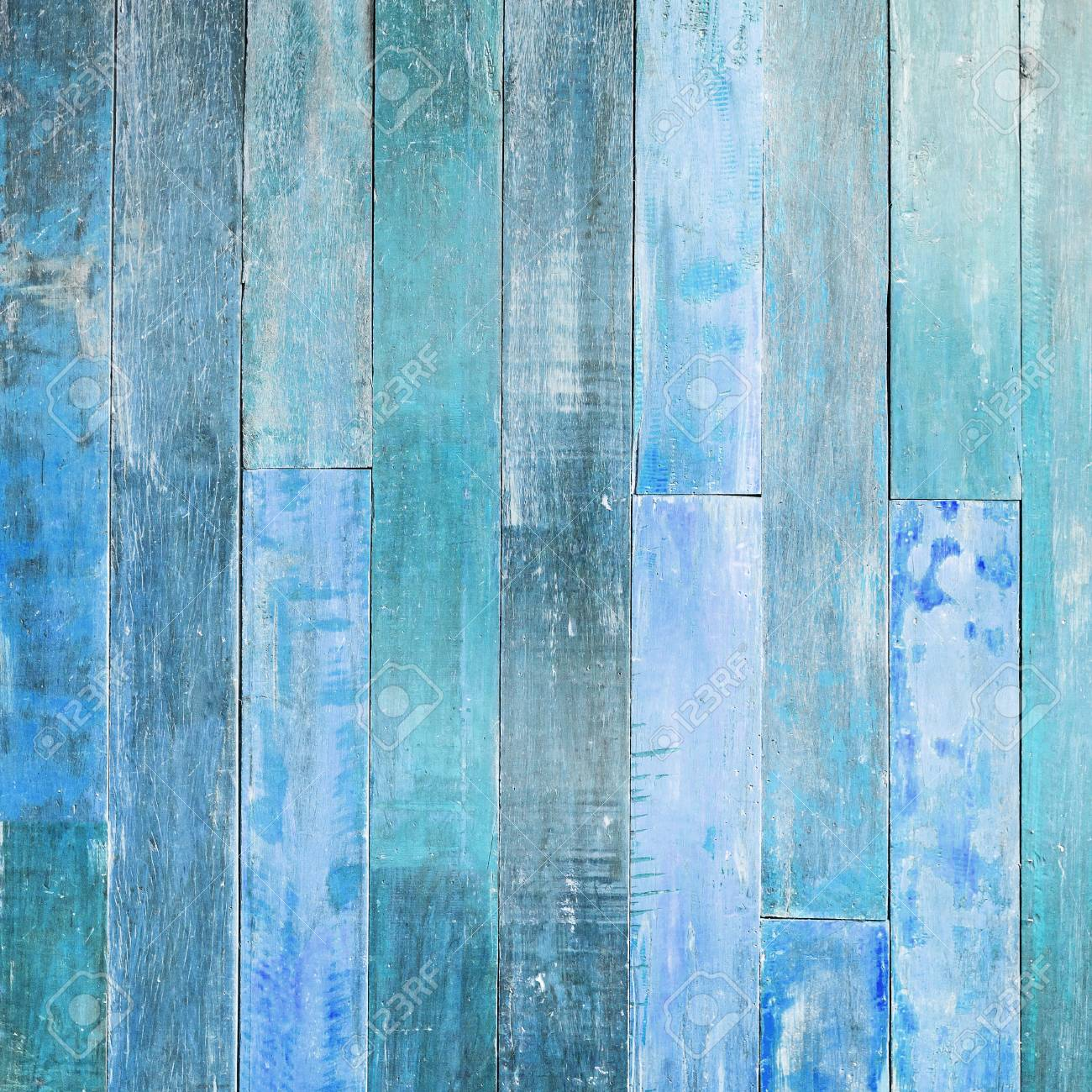 High Resolution Blue Wood Texture Background . Stock Photo   59075260