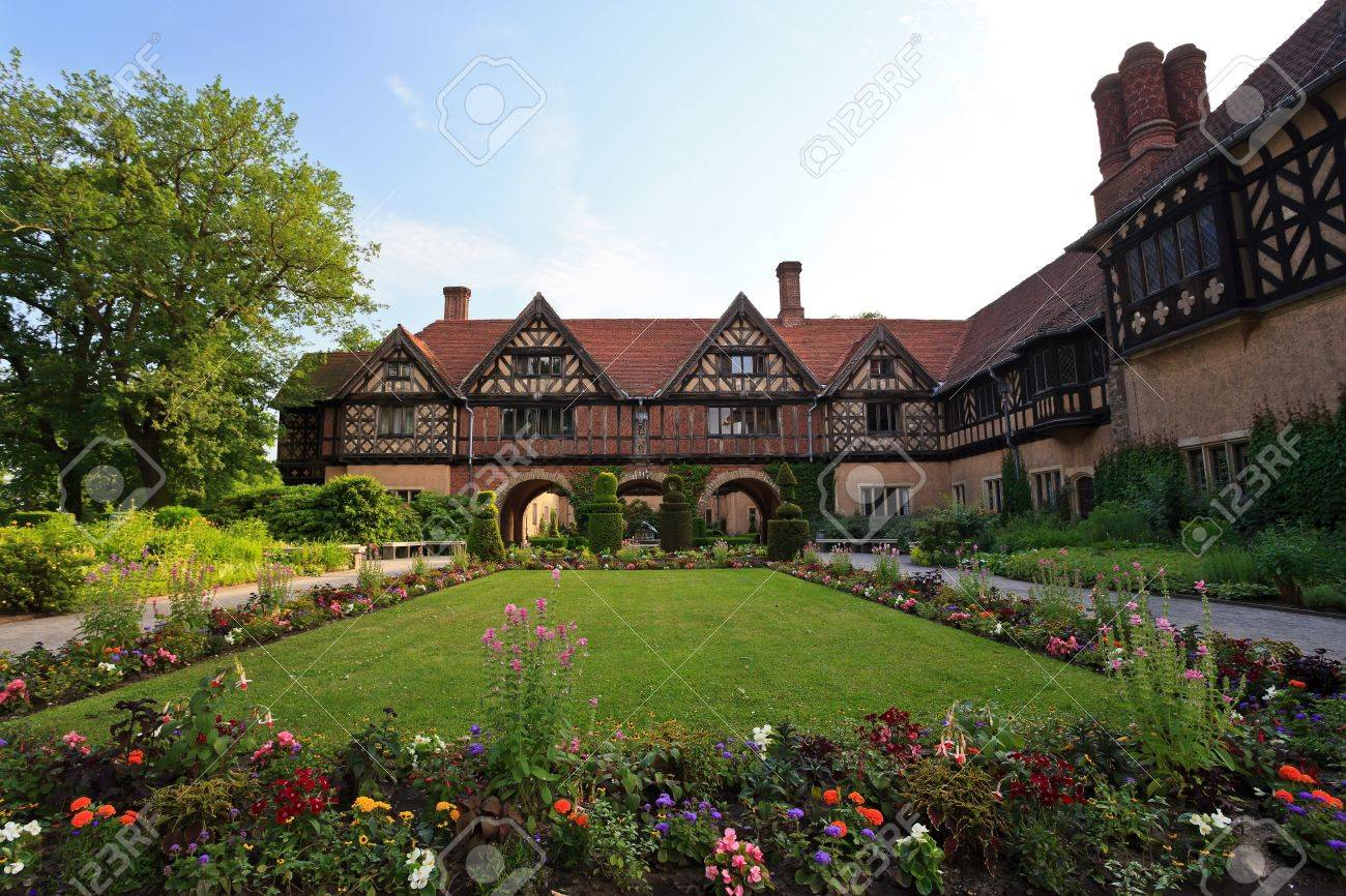 Cecilienhof Palace Located In Neuer Garten Where The Potsdam