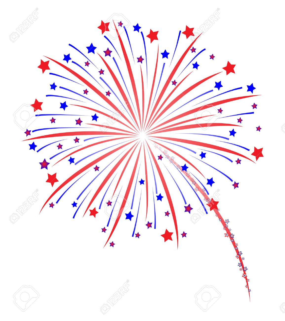 fireworks vector illustration royalty free cliparts vectors and rh 123rf com American Fireworks Shooting Fireworks