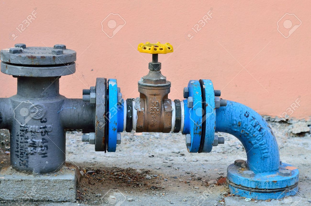 Water Pipe Control Stock Photo, Picture And Royalty Free Image ...