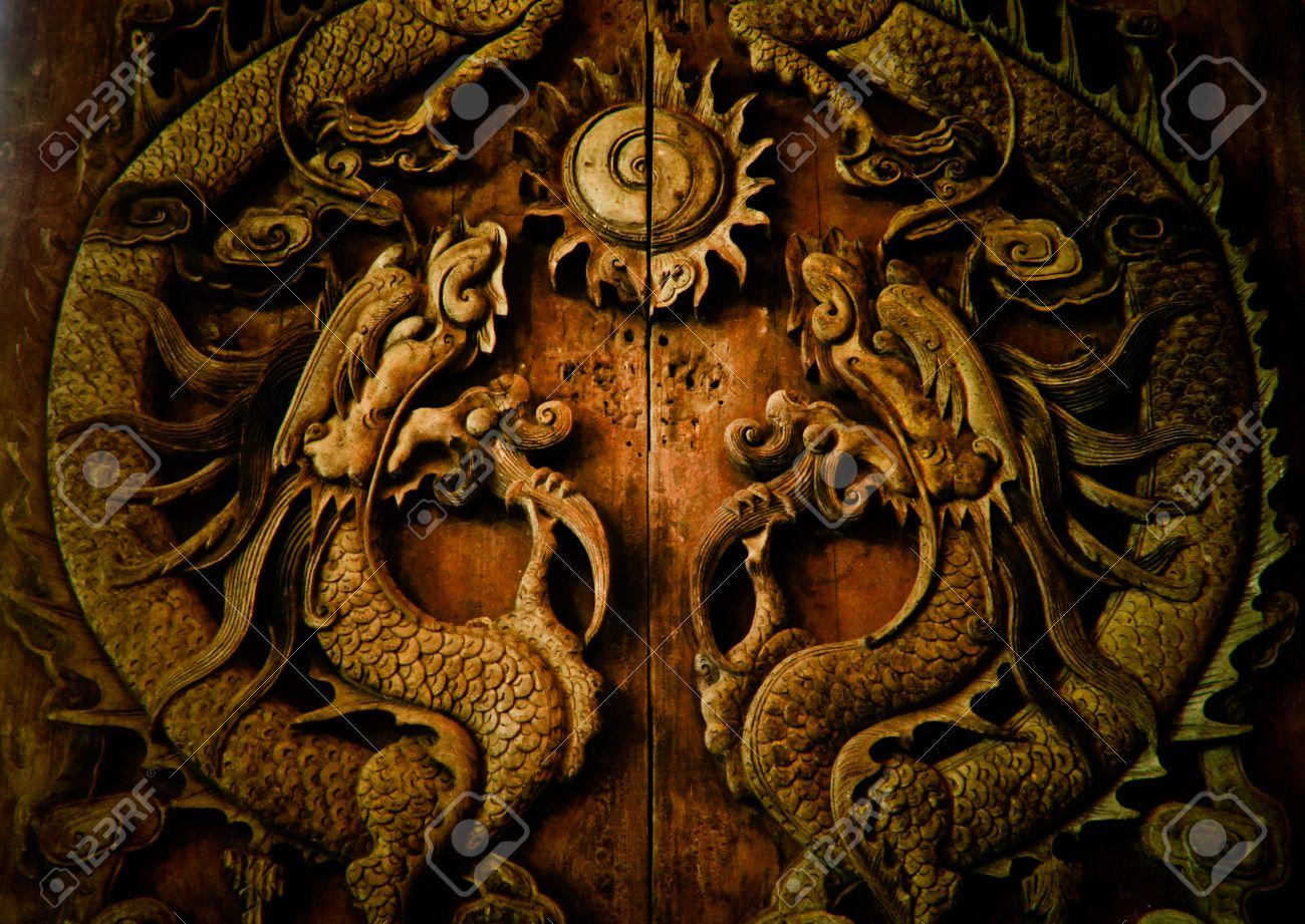 Dwagon door