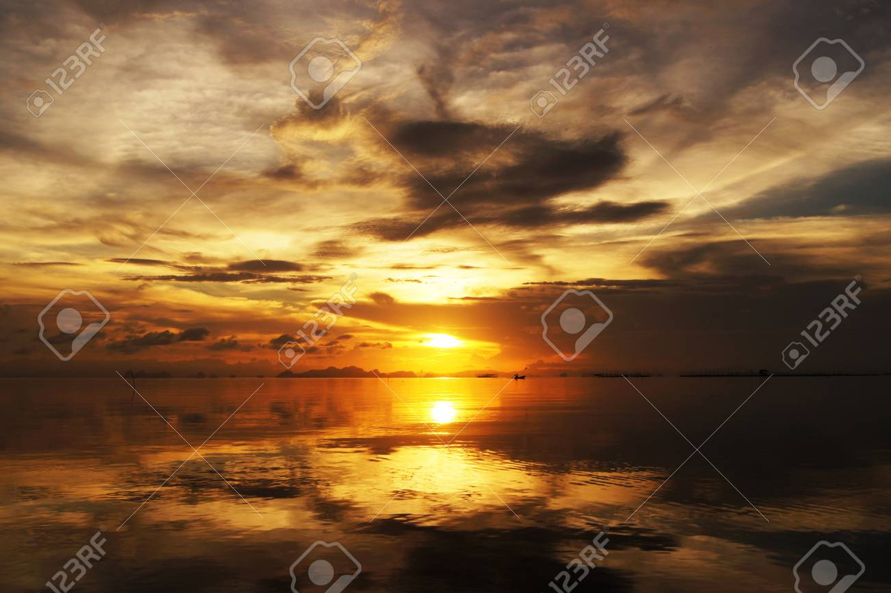 sunset sky, thailand. Stock Photo - 16153000