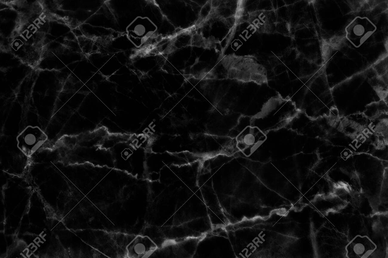 Black marble patterned texture background for design. - 121697231