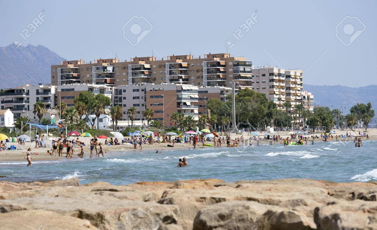 Castellon De La Plana Spain August 10th 2012 Unidentified Stock Photo Picture And Royalty Free Image Image 33737366