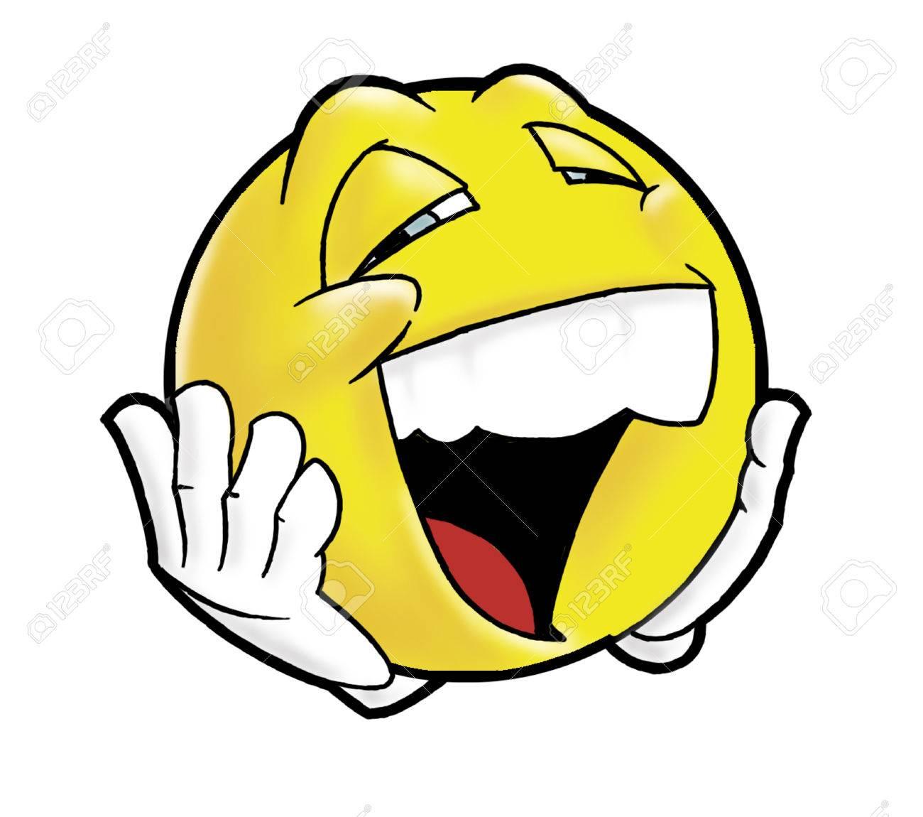 笑う顔文字 の写真素材 画像素材 Image