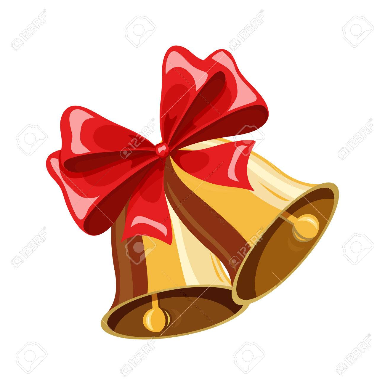 Christmas Bell.Christmas Bell Christmas Holiday Object Christmas Bell Vector