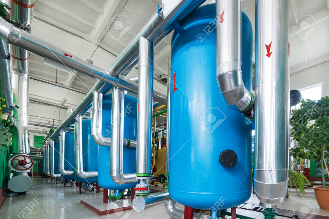 Water treatment system for boiler station. - 91317606