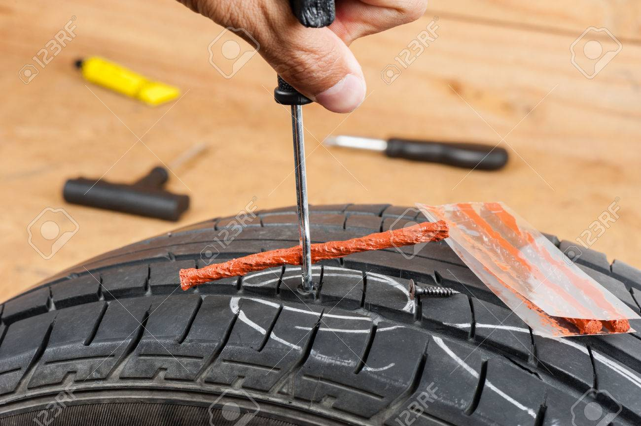 Tire Repair Kit >> Flat Car Tire Repair Kit Tire Plug Repair Kit For Tubeless Tires