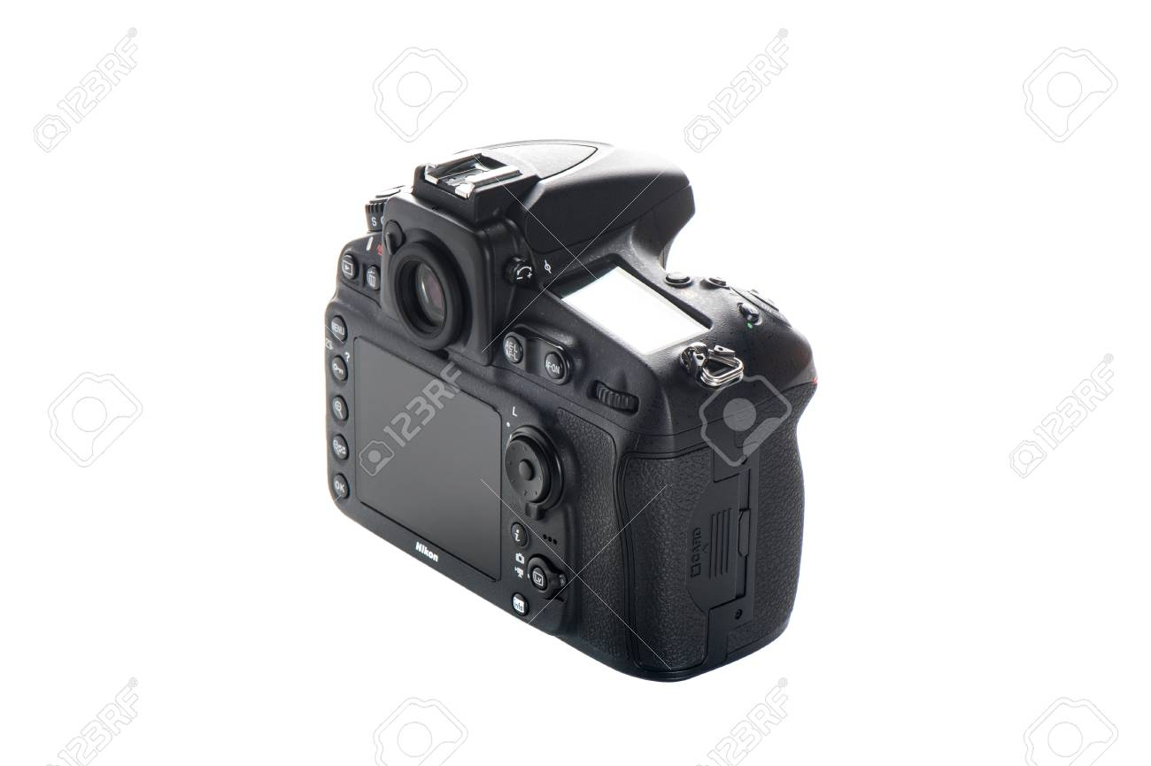 Bangkok Thailand September 29 2014 Nikon D810 Camera Body Only The First