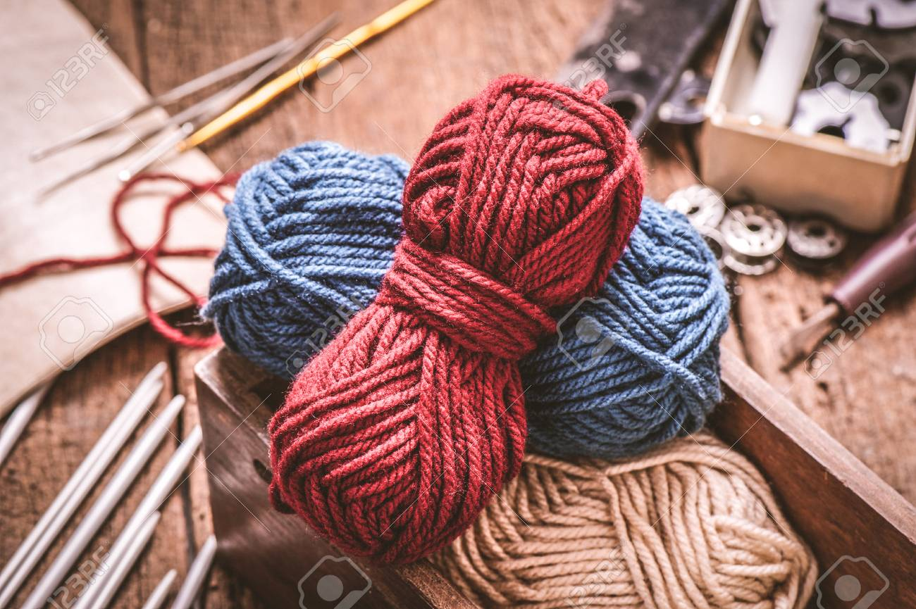 Equipment For Knitting And Crochet Crochet Hook Yarn Wool