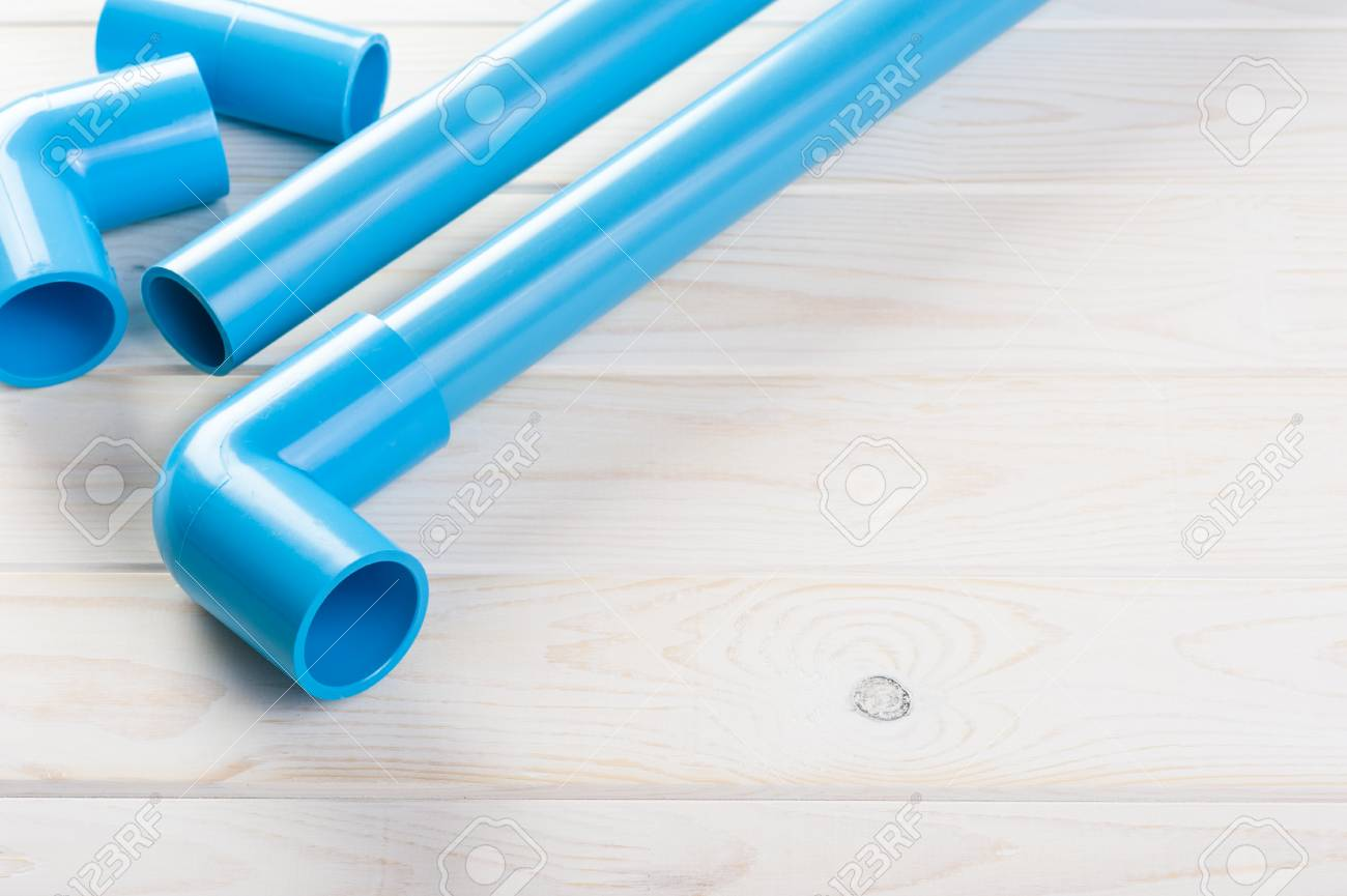 PVC パイプ、継手、塩ビ管ポリ塩化ビニールの結合 の写真素材・画像 ...